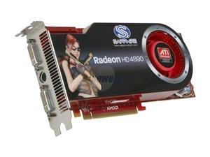 SAPPHIRE 100269SR SAPPHIRE 100269SR Radeon HD 4890 1GB 256-Bit GDDR5 PCI Express 2.0 x16