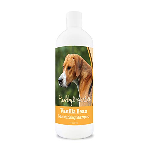 Healthy Breeds Vanilla Bean Shampoo with Special Conditioning Formula for a Shiny Luster on Coat. Vanilla Fragrance 8oz