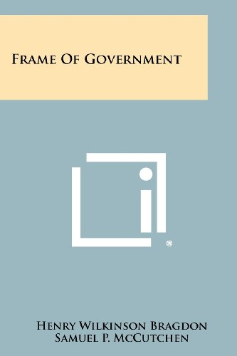 Frame Of Government - Frames Wilkinsons