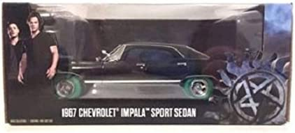 Chevrolet Impala sport sedan supernatural Green Machine 1:24 GreenLight 84032