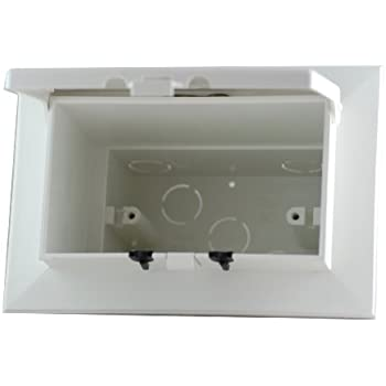 Arlington Dbhb1w 1 Low Profile In Box Recessed Electrical