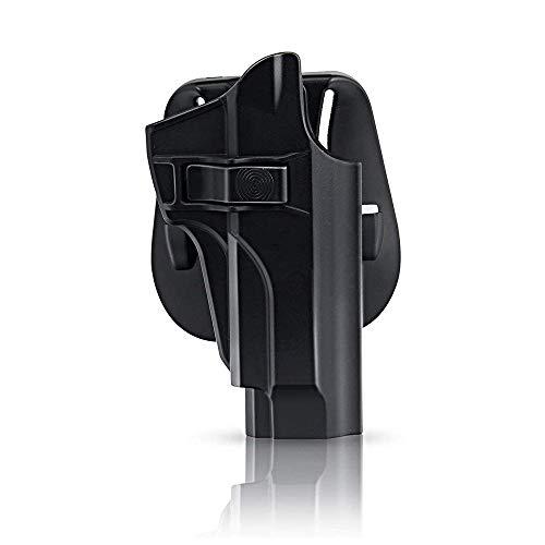 efluky Beretta Holster Ceinture Airsoft Pistolet Defense Gun Holster for Beretta 92fs, 92FS INOX, M9, Chiappa M9, M9_22… 1