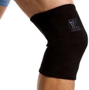 Black Men Women Nikken 1 Large Knee Sleeve 1834 Thin Stretchy Support