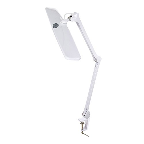 Clamp Light in Canberra White ()