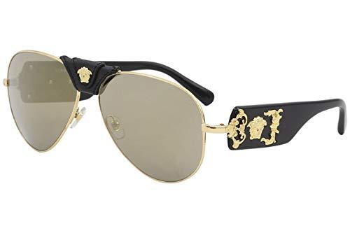 de7b08fff3a68 Versace Women's Medusa Aviator Sunglasses | Product US Amazon