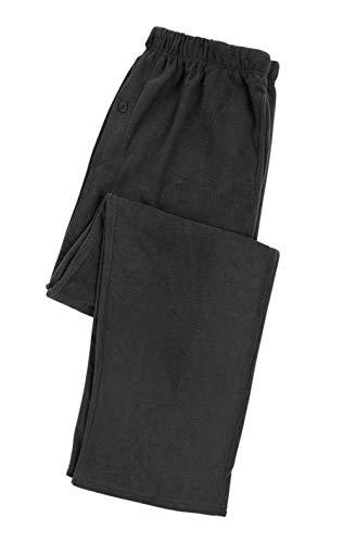 North 15 Boys Cozy Micro Fleece Pajama Pants-1224-Blk-18 Jet Black