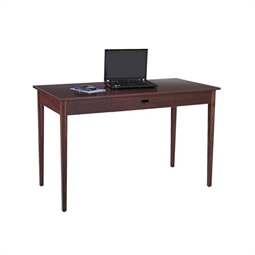 Safco Products 9446MH Apres Table Desk with Drawer, Mahogany