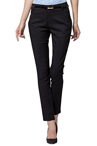Petite Black Dress Pants - 8