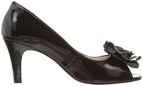 Lotus Belinda - Zapatos de vestir de otra piel para mujer negro - Black (Black Patent Leather)
