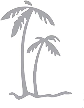 Palm Tree Trees Vinyl Decal Car Window Sticker Yetti You Pick Size /& Color