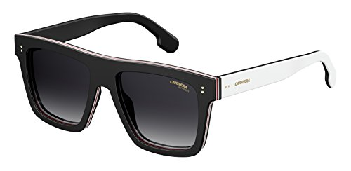 Carrera 1010/s Rectangular Sunglasses, BLACK, 55 mm