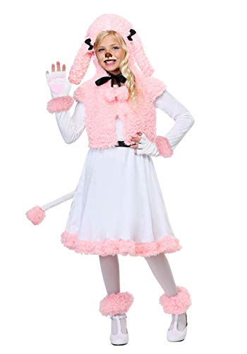 (Child Pink Poodle Costume Small)