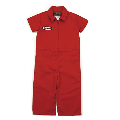 [Knuckleheads - Infant and Baby Boy Grease Monkey Coveralls Red 3T] (Cute Baby Boy Costumes Ideas)