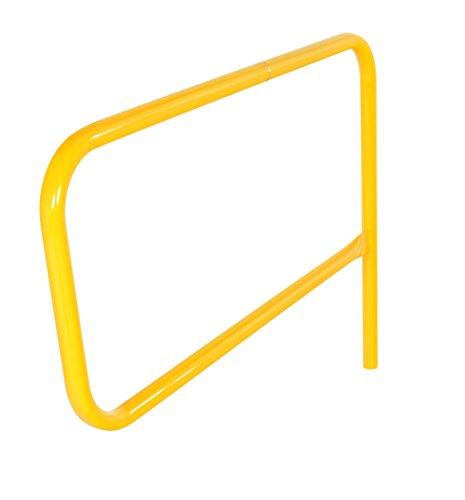 Vestil VDKR-G4 4' Steel Gate for Pipe Safety Railings, Overall WxLxH (in.) 56.7188 x 3.5938 x 36, Usable Width (in.) 48 ()