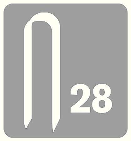 Rapid Agrafeuse 20511811 R36 Pour la fixation de c/âbles Construction enti/èrement en m/étal