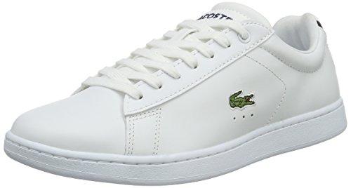 Lacoste Kvinners Carnaby Mote Sneaker Hvit