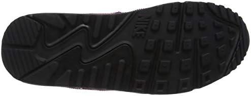 Nike Air Max 90 Lea Sport Sneakers for Women (Red (Burgundy