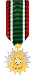 - Medals of America Saudi Arabia Liberation of Kuwait Medal Miniature Bronze