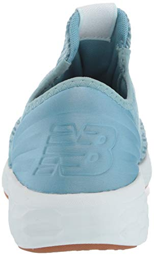 New Balance Women's Cruz V2 Fresh Foam Running Shoe, Blue Fog/Platinum Sky, 5 B US