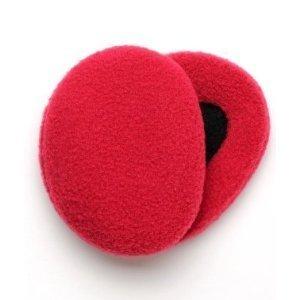 Earbags Fleece Ear Warmers - Red Small