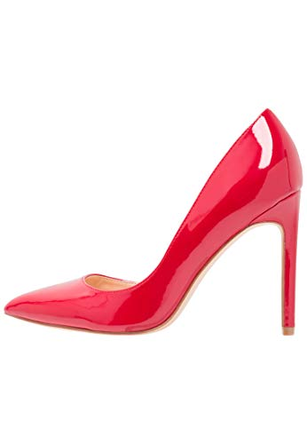 Stilettos À Escarpins amp;odd Qualité Élégants Pour Avec Cuir Hauts Talons Rouge Femmes Aiguille Talon Chaussures Haute Even De En qg7wE7