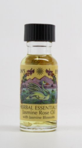 Jasmine Rose - Sun's Eye Herbal Essential Oils - 1/2 Ounce ()