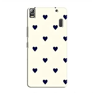 Cover It Up - Purple Hearts A7000 / K3 NoteHard Case