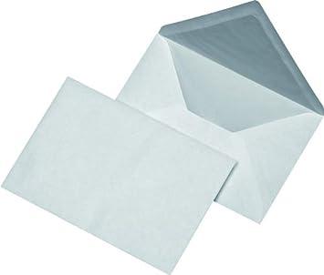 100 Briefumschläge Din B6 Kuvert Mit Seidenfutter Amazonde