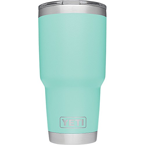 YETI Rambler 30 oz Stainless Steel Vacuum Insulated Tumbler with Lid, Seafoam