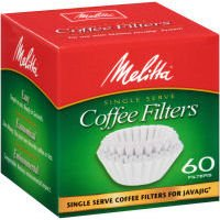 Melitta 63229 Single Serve Coffee Filters For JavaJig™ 60 Count
