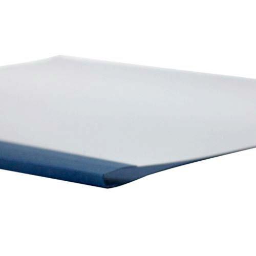 1/16'' Navy Linen Thermal Binding Utility Covers - 100pk by MyBinding.com