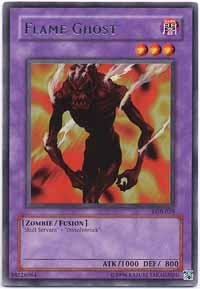 Yu-Gi-Oh! - Flame Ghost (LOB-029) - Legend of Blue Eyes White Dragon - Unlimited Edition - Rare
