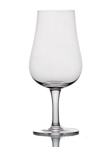 Stemmed Nosing Copita Whiskey Tasting Glass - 8oz Snifter (4)
