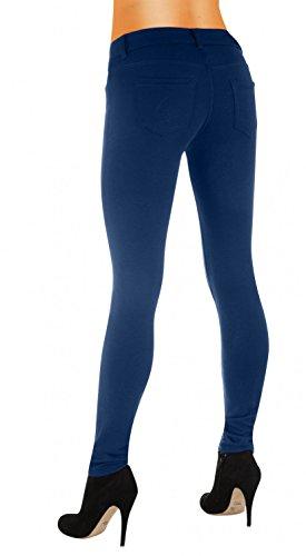 Danaest - Vaqueros - skinny - Básico - para mujer Azul