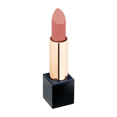 PONY EFFECT Outfit Velvet Lipstick #No Makeup 3.5g, 0.12 Ounces, Semi-matte Lipstick, Moisturizing Lip Color, Soft Formula, Blends Smoothly, Kissably Lip Make-up, MLBB, Coral Nude