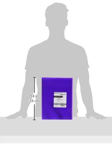 grafoplas 1471735Folder with 30Sleeves, Foolscap, Tapas PP, Purple by Grafoplas (Image #2)