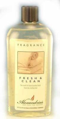 Alexandria and Bella Breeze Fragrance Lamp Oil Refills - 16oz - FRESH AND CLEAN (Alexandria Fragrance Lamps)
