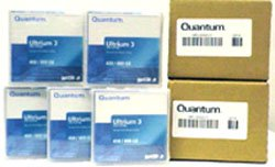 10 Pack Quantum MR-L3MQN-01 LTO Ultrium-3 Data Tape (400/800GB) by Quantum