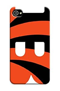Iphone 6 Plus Protective Case,Beautiful Football Iphone 6 Plus Case/Cincinnati Bengals Designed Iphone 6 Plus Hard Case/Nfl Hard Case Cover Skin for Iphone 6 Plus