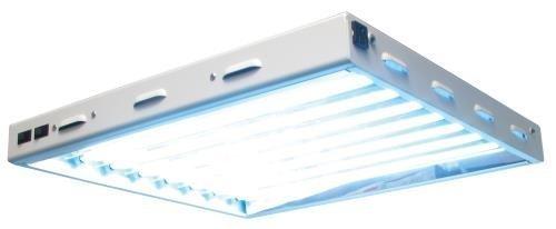 Sun Blaze 960293 120-volt T5 High Output Fluorescent Lighting Fixture, 2-Feet, 8 Lamps by Sun Blaze