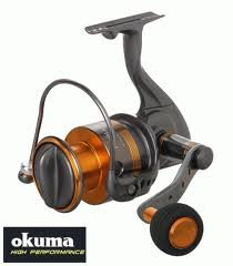 Okuma Raw II Spin Reel (4.8:1 / 15 Pounds, 310 -Yards)