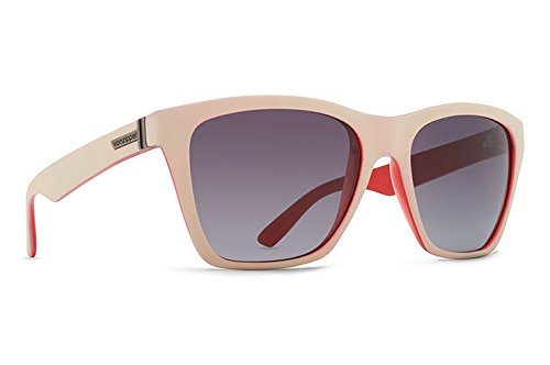 VonZipper Mens Booker B4BC Sunglasses, Series Sand-Ruby w/Gray (Srg Series)