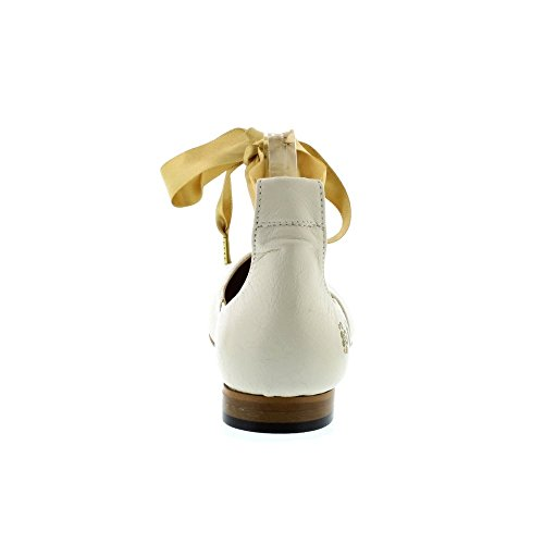 Fly London Dwell 02 - Off White Mousse (creme) Damesschoenen
