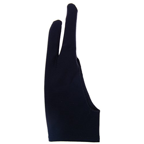 YUYUE Artist Glove Two-Finger Anti-fouling Glove for Drawing