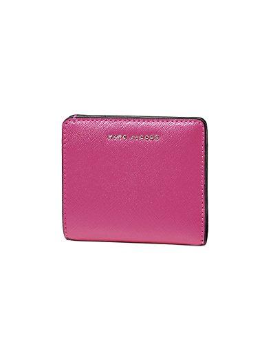 44b013efef53 (マーク ジェイコブス) MARC JACOBS 二つ折り財布 MAGENTA/PINK ピンク SAFFIANO サフィアノ M0010207