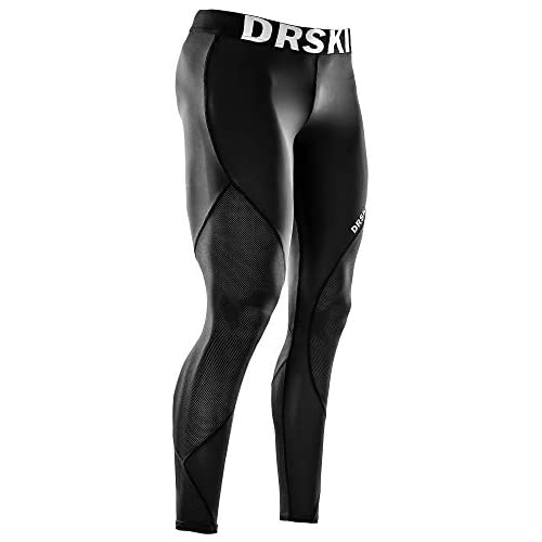 DRSKIN 1, 2 or 3 Pack Men's Compression Pants Dry Cool Sports...