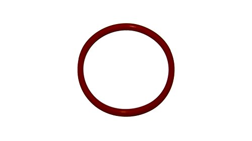 341 O-ring - Sur-Seal ORSIL341 Number 341 Standard Silicone O-Ring, Excellent Resistance to Oxygen, Ozone and Sunlight, Vinyl Methyl Silicone, 70 Durometer Hardness, 3-1/2