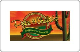 Pepe & Chela's Gift Card - Stores Topeka