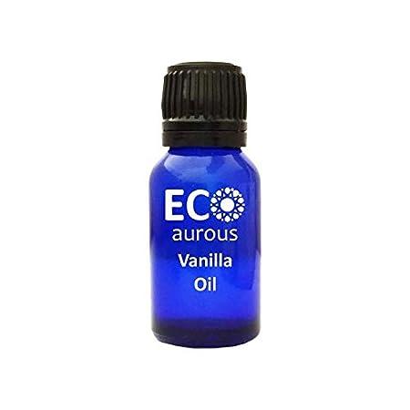 Vanilla Oil 100% Natural, Organic, Vegan & Cruelty free Vanilla Essential Oil | Vanilla Diffuser Oil by Eco Aurous (30 ml) Tosc International Pvt. Ltd.