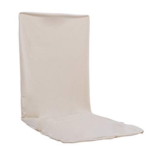 (Viva's Store 14 Color Universal Solid Elastic Cloth Chair Covers China for Weddings Decoration Party Banquet Dining Chair Covers - Milk White)